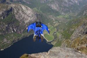 Wingsuit Base Jumper